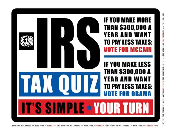 Do the tax quiz